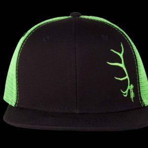 Big Six Black Neon Green