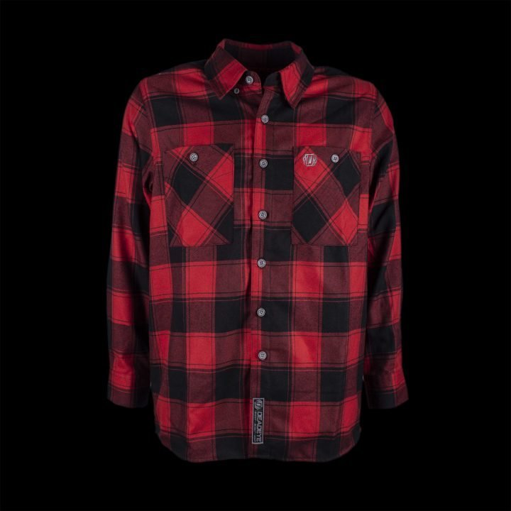 Weston Flannel Red